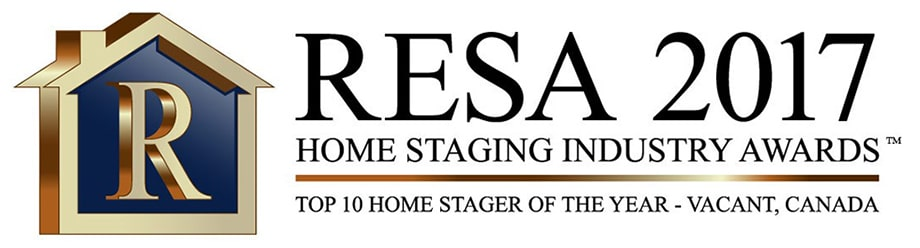 "Susi Pereira, owner of Well Dressed Home, won the prestigious award ""Top 10, Vacant Home Stager of the Year"" for 2017 by the Real Estate Staging Association (RESA)."